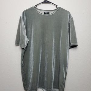 Forever 21 grey suede fabric